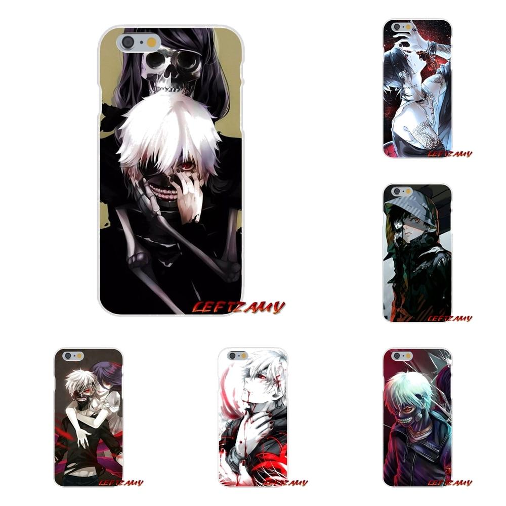 <font><b>Anime</b></font> Tokyo Ghouls Accessories <font><b>Phone</b></font> Shell Covers For Huawei P8 P9 P10 Lite 2017 <font><b>Honor</b></font> 4C 5X 5C 6X Mate 7 8 9 10 Pro
