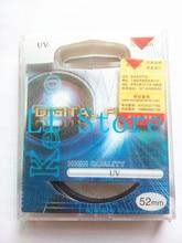 Free+Tracking original 52MM Kenko MC-UV mirror UV Filter For Nikon D3100/D5100 18-55 Pentax 18-55
