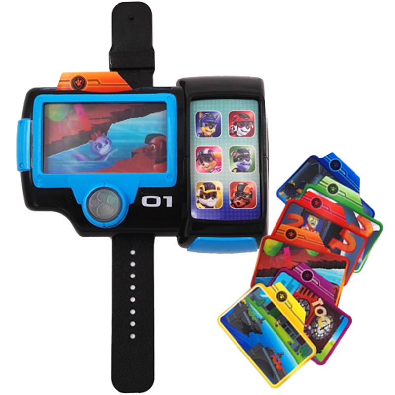 Paw Patrol Puppy Dog watch summoner Action Figure Patrulla Canina Juguetes kids toys in Action Toy Figures from Toys Hobbies