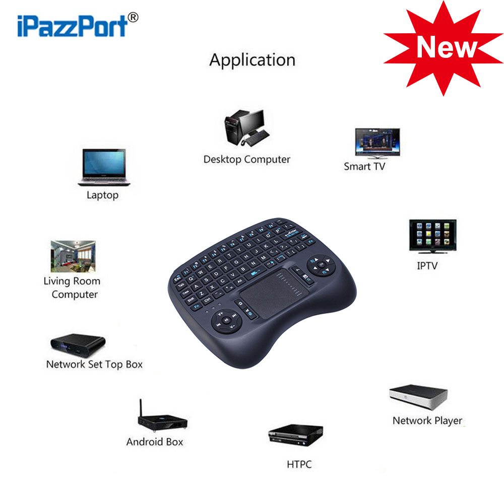 Aliexpress Buy New Wireless Backlit Mini USB Keyboard With Touchpad For Smart TV Box PC Tablets Desktop Computer IPad IPTV Mac OS Linux From