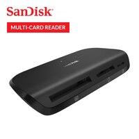 SanDisk Memory Card Reader Imagemate Pro USB 3.0 Multi Card Reader SD SDHC SDXC MicroSDHC MicroSD UDMA7 CF kartu SDDR489
