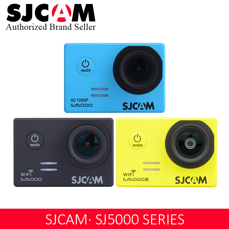 SJCAM Series SJ5000 Series SJ5000 WIFI SJ5000X Elite 1080P 4K Gyro WIFI Action Camera 2 0