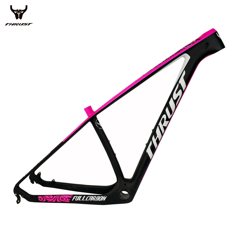 THRUST Carbon Mountain Bikes Frame 29er Chinese Carbon Fame mtb T1000 Bicycle Frame 27 5er Size