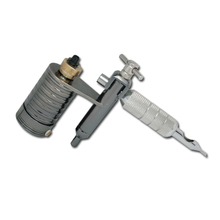 En iyi Döner Dövme Makinesi Kalıcı Makyaj Makinesi Pro Gri Güçlü Dövme Makineli tüfek Hiçbir Gürültü Dövme Makinesi Ücretsiz Kargo