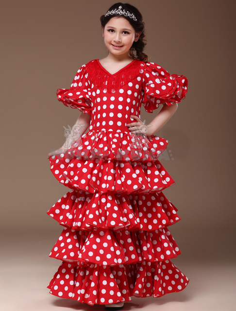 Fashion High Quanlity Flamenco Dance Dress Lolita Dress Cosplay costumeHalloween costume for Girls  sc 1 st  AliExpress.com & Fashion High Quanlity Flamenco Dance Dress Lolita Dress Cosplay ...
