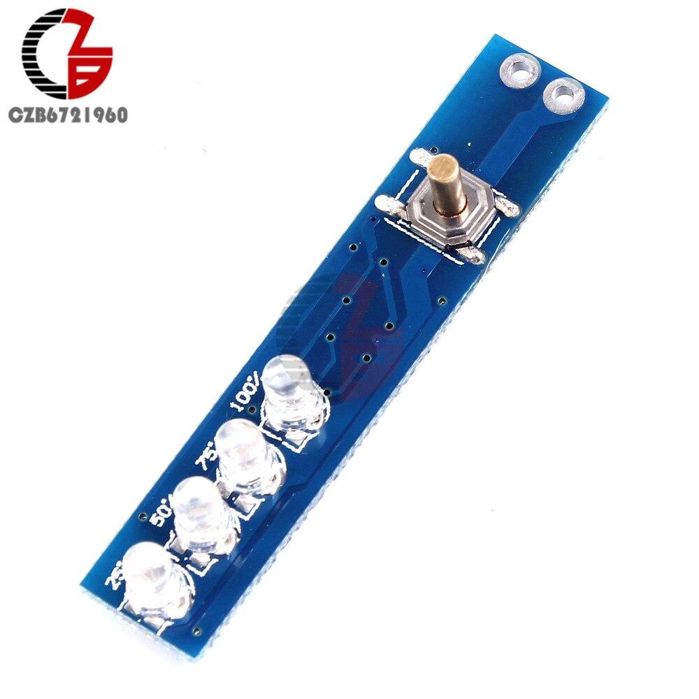 3s 111v 126v Lithium Ion Charging Battery Voltage Capacity Percent 4v Pcb Circuit Board Protection Croons 74v 18650 1s 2s 4s Li Indicator Display