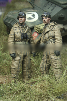 [tuskmodel] 1 35 scale resin model figures kit WW2 U.S. A050 1