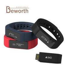 Оригинальный i5 плюс Смарт Браслет Bluetooth умный Браслет спортивные водонепроницаемый Сенсорный экран Фитнес браслет часы Ми Band2