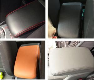 Image 4 - Customzied Microvezel Leer Center Armsteun Cover Voor Mitsubishi ASX Auto decoratie Interieur upgrade