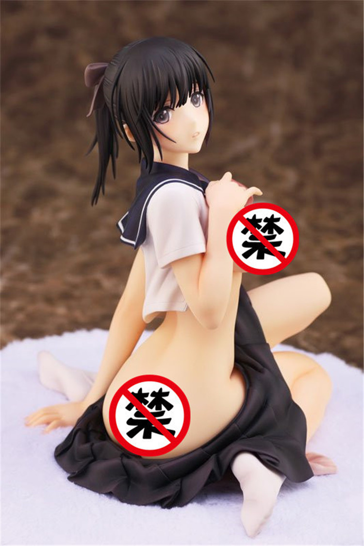 14cm Anime sexy adult Alphamax Skytube Tony Fault Fault!! Saeki Yukina Figure PVC 5.51 Collection Hobby Doll Gift Toy
