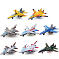 8/set Toys Pull Back Alloy Fighter Jets Aviation Military Model Mini Airplane Gift Box Packaging Kids Child's Favorite Toy Gift