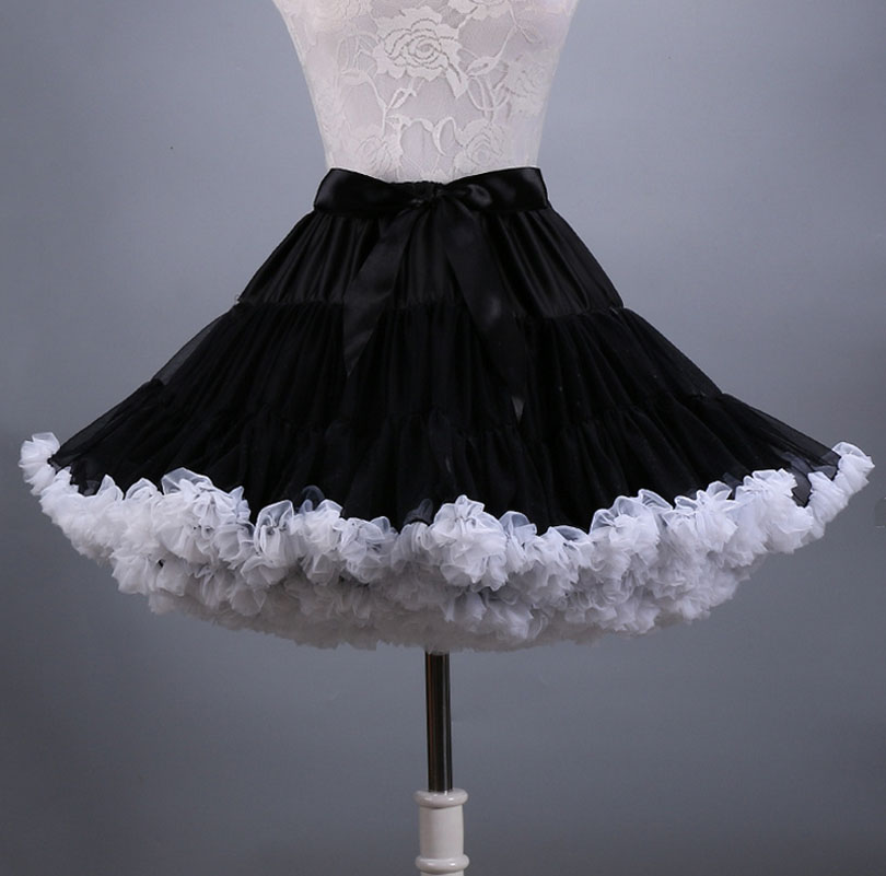 2016 new fashion fluffy Teenage girl Adult women pettiskirt tutu Women tutu Party dance adult skirt