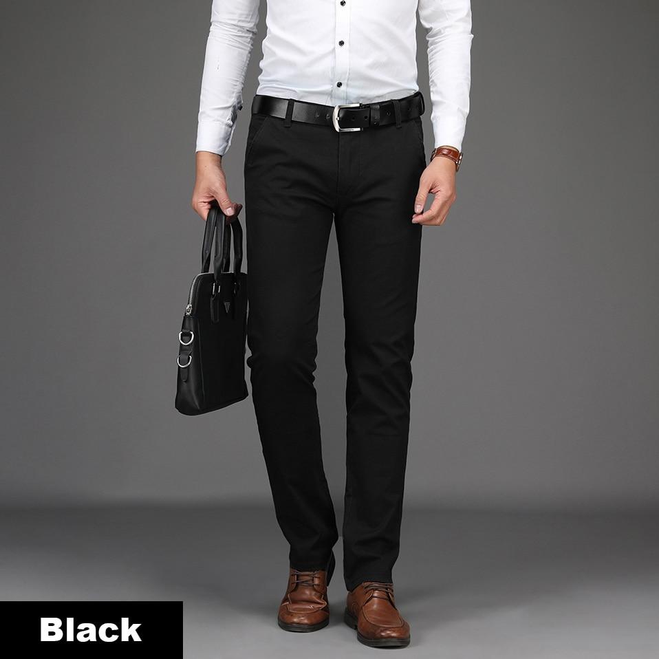HTB1NZNCXjDuK1Rjy1zjq6zraFXa3 NIGRITY 2019 Men Pants Casual High Quality Classics Fashion Male Trousers Business Formal Full Length Mens Pants