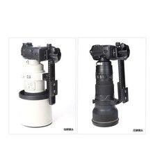 Benro lh280 h стабильный телефото зум-объектив кронштейн зажим пластина LongFocus держатель для объектива 200-500 мм объектив