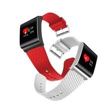 X9 Pro Цвет ЖК-дисплей умный Браслет крови Давление Кислорода Монитор сердечного ритма дистанционного управления вызова SMS оповещения для iOS и Android