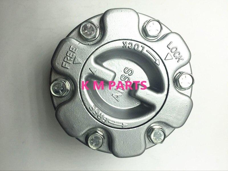 Новый бренд серебряный цвет ручная ступицы свободного хода mb886389 для Mitsubishi Pajero Тритон Палочки до L200 4x4, l300 4x4, монтер K-M