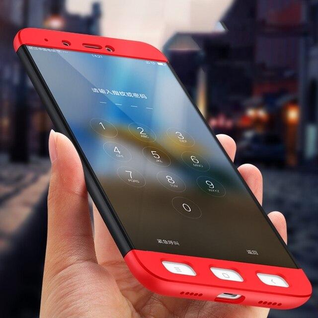 sale retailer eb084 88c58 US $2.84 25% OFF|GerTong 3 w 1 obudowa do Xiaomi czerwony mi uwaga 4X4 5A  mi a1 mi 6 mi 5S mi 5X mi 5 tylna pokrywa obudowa do Xiaomi czerwony mi 4X  ...