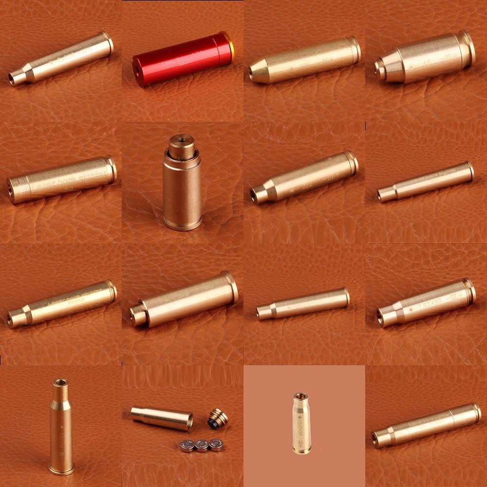 ohhunt Hunting Bore Sighter Cal 7.62X54R 7.62X39 7X57R 8X57JRS 9.3X62 30-300WIN 6.5X55 CAL. Cartridge Red Laser Boresighter