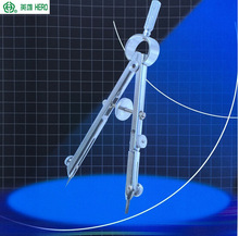 Professionele tekening echte held H2031 multifunctionele metalen veerboog divider Lente kompassen Techniek 3 stks / pak