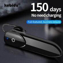 Kebidu אלחוטי Bluetooth אוזניות ספורט Bluetooth אוזניות דיבורית סטריאו בס אוזניות עם מיקרופון אוזניות עבור iPhone Xiaomi