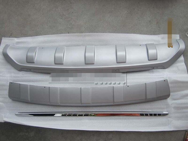 Couvercle de plaque de protection de pare-chocs avant et arrière en ABS pour hyundai IX35 2010-2012 accessoires de voiture