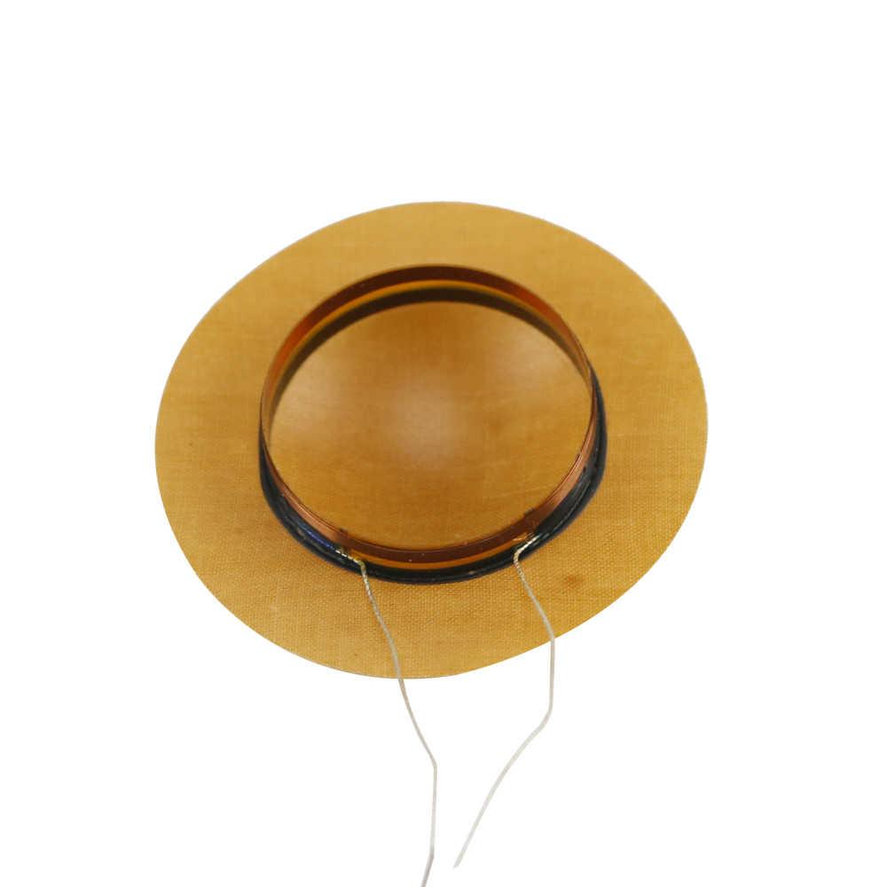 Universal 25 5mm Horn Resin Diaphragm Treble Voice Coil tweeter Film Driver  Head stage speaker Repair 6OHM 8OHM 2PCS