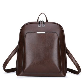 Casual Backpack από τεχνόδερμα Γυναικείες Τσάντες - Backpacks Τσάντες - Πορτοφόλια Αξεσουάρ MSOW