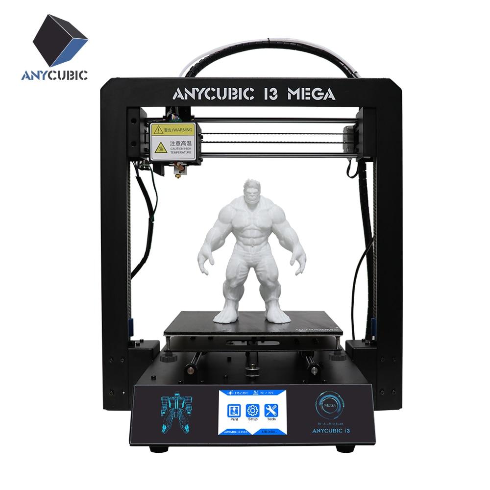 Büroelektronik Anycubic I3 Mega 3d Drucker Volle Metall Plus Größe Desktop Rahmen 3,5 Zoll Tft Screen Impresora 3d Drucker Diy Kit Gadget Extruder