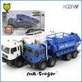 Mr. modelo de coche de aleación Modelo de Camión de Succión de Aguas Residuales Froger Refinada Decoración Juguetes de metal para la Construcción vehículos de Reciclaje de Aguas Residuales