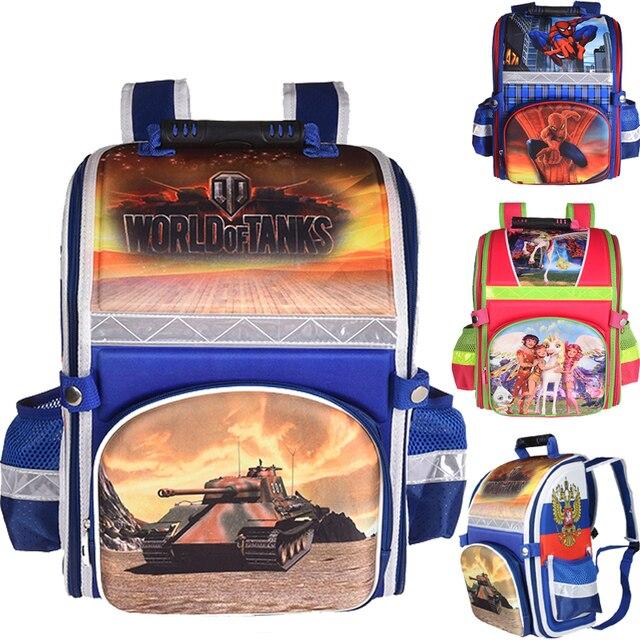 new arrivel Kids school Backpack primary student EVA FOLDED orthopedic Children School Bags for boys and Girls mochila infantil