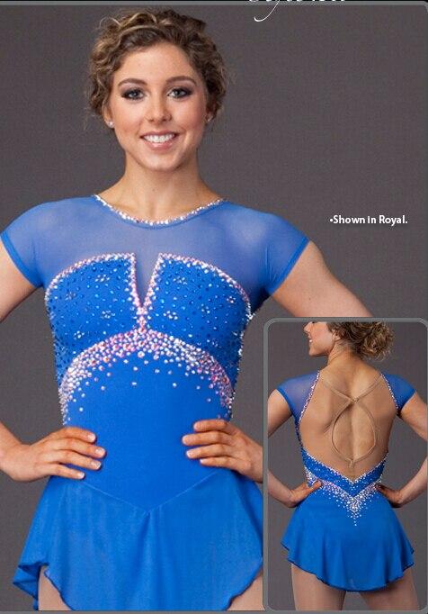 Ice łyżwiarstwo figurowe sukienka kobiety konkurencji łyżwiarstwo - Ubrania sportowe i akcesoria - Zdjęcie 3