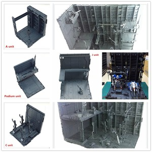 Image 2 - 반다이 건담 프리 콤비네이션 dc010 용 cg 유니버설 격납고 차고 프론트 라인베이스 장면