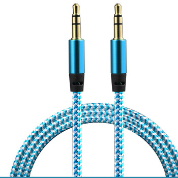 3.5mm Jack Aux Cable Male Audio Cable Jack Phone Extension Cable for Peugeot 206 207 208 301 307 308 407 2008 3008 4008 image