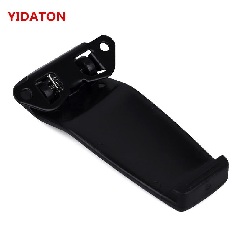 YIDATON 5PCS Spring Belt Clip For BP-209N BP-210N IC-A6 IC-A24 IC-V8 IC-V82 IC-U82 IC-F22 IC-F22S IC-F22SR IC-T3H