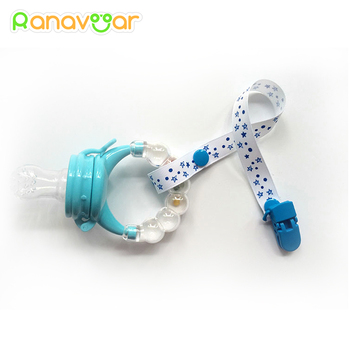 Baby Pacifier Clip Chain for soothers Ribbon Chupetas funny Soother dummy holder Leash Strap Nipple Holder Infant Feeding 1