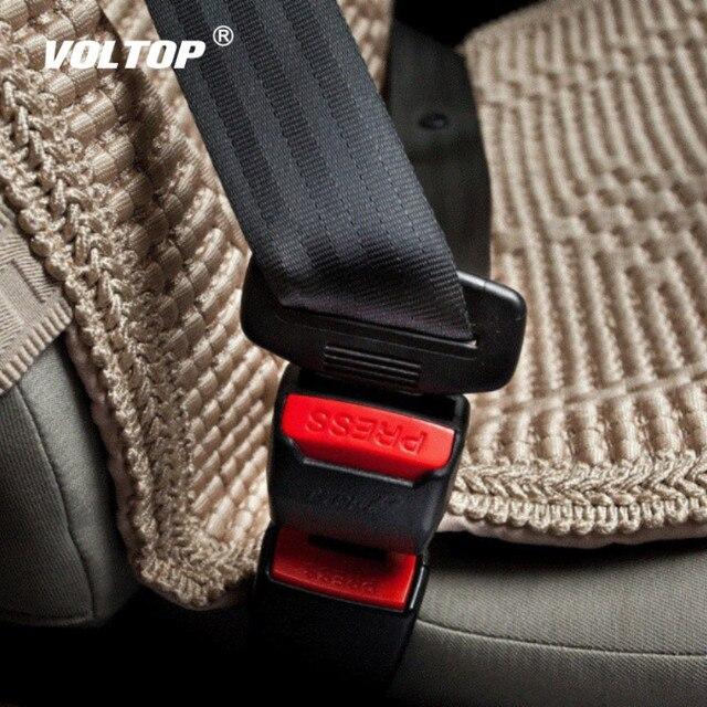 1 Uds clip para cinturón de seguridad de coche cubierta Universal niños ajustable cinturón de seguridad extensor extensión hebilla de seguridad cinturón de seguridad titular de la tarjeta