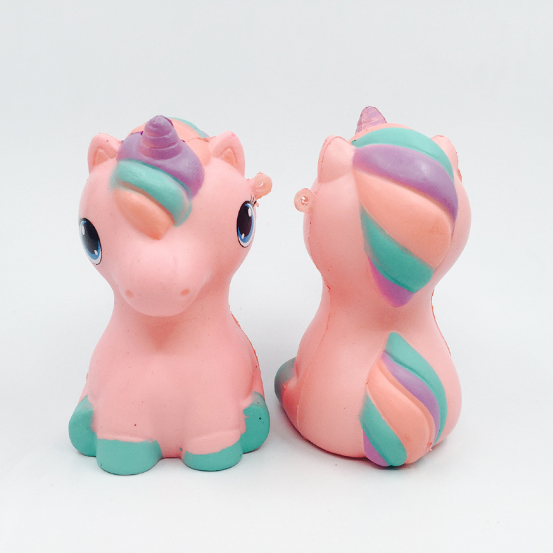 Jumbo Squishy Kawaii Pegasus Unicorn Soft Slow Rising Stretchy Squeeze Kid Toys Relieve Stress Bauble Childrens Day Gifts