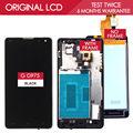 100% testado original 4.7 polegada 1024x768 para lg optimus g ls970 E971 E973 E975 F180 LCD Com tela de Toque Quadro Digitador Assembléia