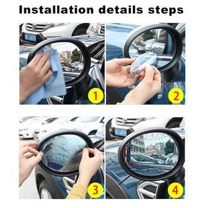 Image 5 - รถกันฝนกระจกมองหลังสติกเกอร์ Flim Anti fog กันน้ำรถกระจกหน้าต่างเปลี่ยน