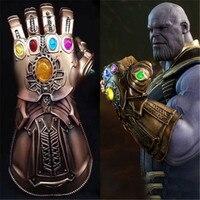 1:1 Infinity War Thanos Infinity Gauntlet PVC Gloves Cosplay Costume Halloween Prop Accessory