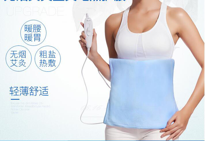 цена на Electric Far Infrared Massage Belt Heating Therapy Pad Waist Body Care Mat Abdominal Health Tool Electronic Slimming