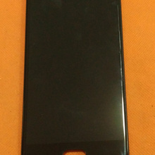 Used Original Touch screen + LCD display + Frame for Oukitel