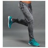 Mannen Running Gym Broek Jogging Joggers Training Sport Sportkleding Elastische Fitness Oefening Broek Ritsvak Kleren