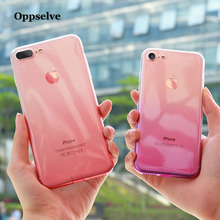 Oppselve Silicone Phone Case For iPhone XS Max XR X 10 8 7 6 6S S Plus Clear TPU Cover 8Plus 7Plus Coque Fundas