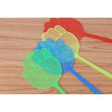 Пластиковые Мухобойки, насекомые, мухи, Противомоскитный инструмент для дома, противомоскитная стрельба, борьба с вредителями, мухобойка, Dorpshipping