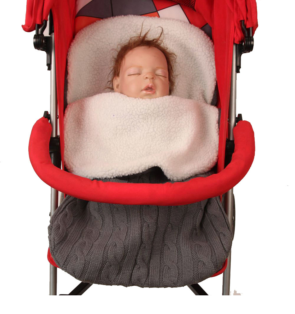 Strollers Accessories Objective Yoya Yuyu Vovo Baby Sleeping Bag Swaddle Blanket Winter Footmuff Cochecito Dormir Sac De Couchage Enfant Para Winter Sleepsacks Colours Are Striking