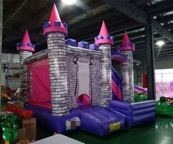 Wysokiej jakości park rozrywki dla dzieci PVC bounce house sprzęt do krytego placu zabaw tanie i dobre opinie DINGYURUI 3 lat Nadmuchiwany plac zabaw dla dzieci XZ-BC-016 Plac zabaw na świeżym powietrzu Duża trampolina L4*W4*H3meters(Customized)