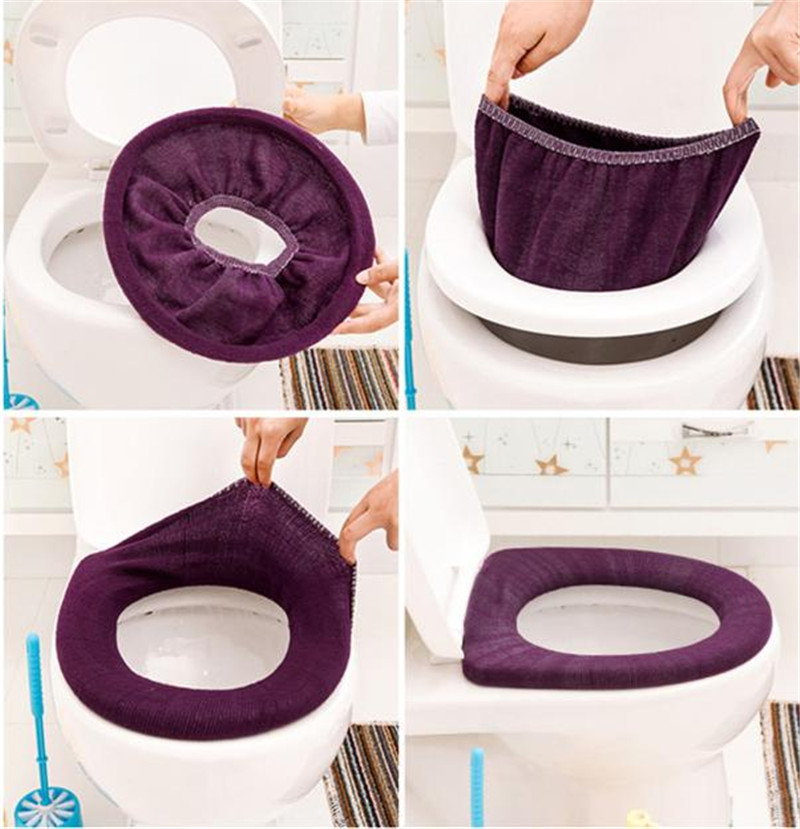 Washable Pad Hot Sell Warmer Toilet Seat Cover Mat Toilet Closestool