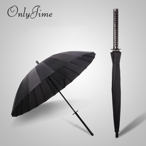 Image 1 - فقط جيمي سيف ساموراي مظلة الرجال جودة قوية يندبروف مظلة كبيرة قصب مقبض طويل عصري كاتانا مظلة أسود
