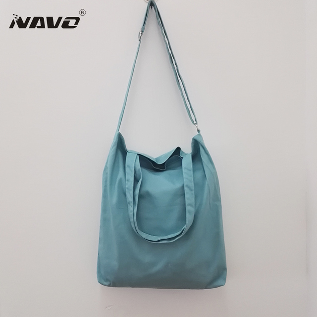 7f0b0d7eb3c US $19.26 |NAVO Large reusable grocery tote bag big foldable shopping bag  canvas blank cotton tote bags eco bag DIY painting handbags-in Shopping  Bags ...